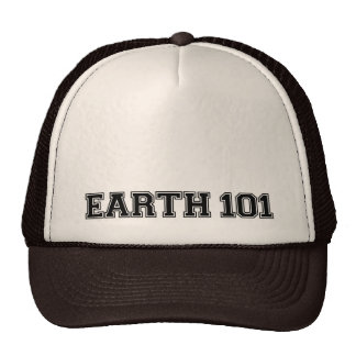 Earth 101 - Multi Products Trucker Hats