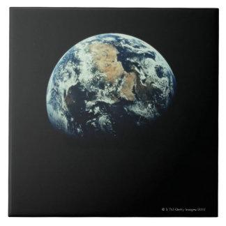 Earth 15 large square tile