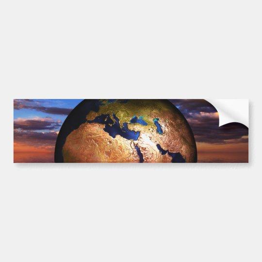 earth-216834 FANTASY SCIENCEFICTION PLANETS ALIEN Bumper Sticker