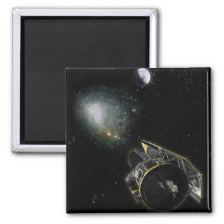 Earth, a Milky Way object Square Magnet