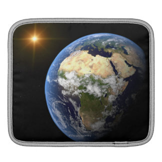 Earth and a Bright Star 2 iPad Sleeve