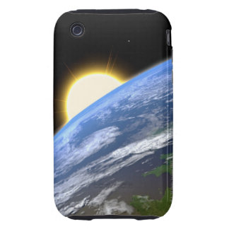 Earth and a Bright Star iPhone 3 Tough Case