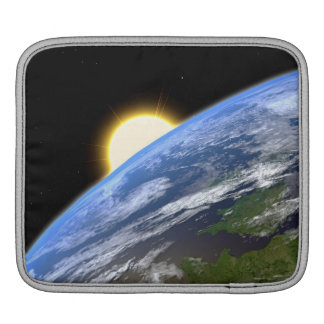 Earth and a Bright Star Sleeve For iPads