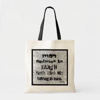 earth and man budget tote bag