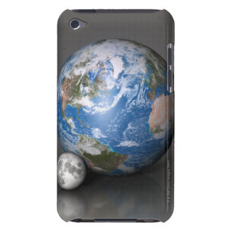 Earth and Moon 2 Case-Mate iPod Touch Case