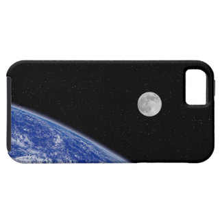Earth and Moon 2 iPhone 5 Case