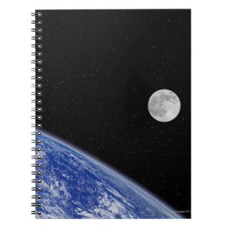 Earth and Moon 2 Notebook