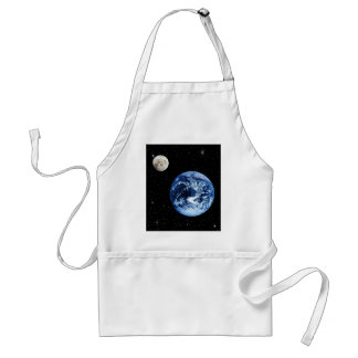 Earth and Moon Apron