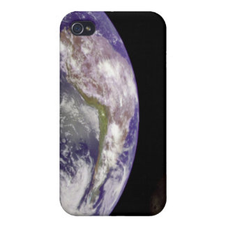 Earth and Moon Cover For iPhone 4