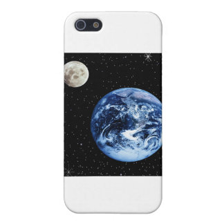 Earth and Moon Cover For iPhone 5