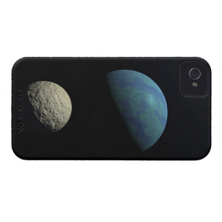 Earth and moon iPhone 4 Case-Mate case