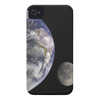 Earth and Moon iPhone 4 Covers