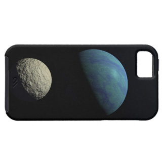 Earth and moon tough iPhone 5 case