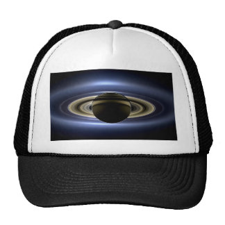 Earth and Saturn Cap