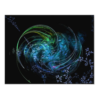 Earth and Sky 11 Cm X 14 Cm Invitation Card
