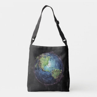 Earth And Space Crossbody Bag