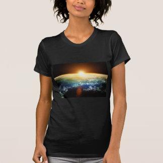 earth and sun tee shirt