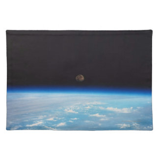 Earth and the Moon Placemat