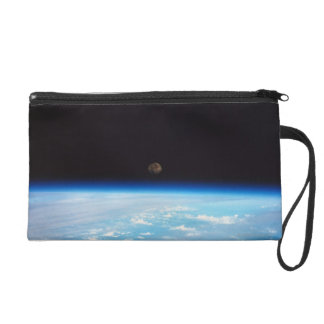 Earth and the Moon Wristlet