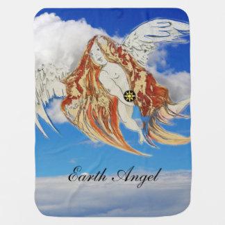 Earth Angel Baby Blanket