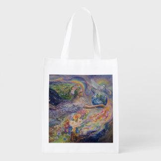 """""""Earth Angel"""" Reusable Bag"""