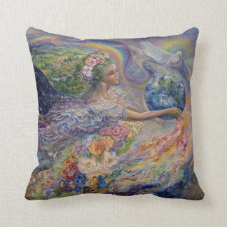 Earth Angel Throw Pillow