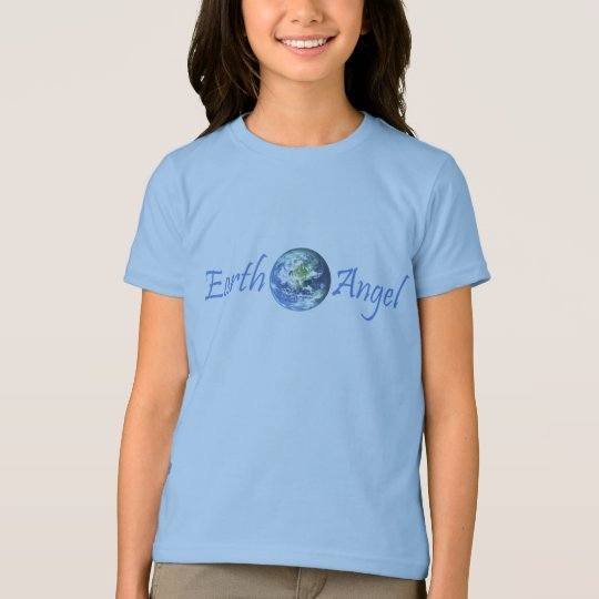 Earth Angel with Wings on Back T-Shirt
