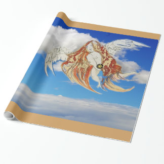 Earth Angel Wrapping Paper