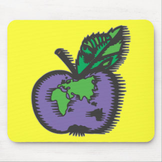 Earth Apple Mouse Mat