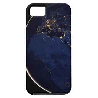 Earth at night from space iPhone 5 covers