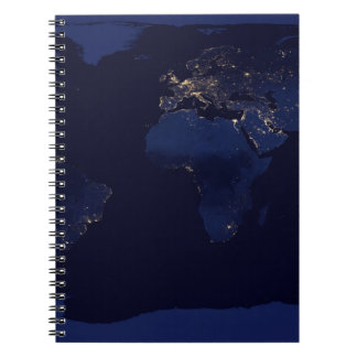 Earth At Night Notebooks