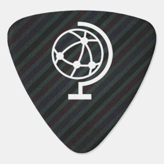 Earth Balls Icon Guitar Pick