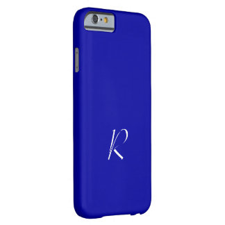 Earth Blue Monogram iPhone 6 cover