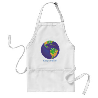 Earth bouquet - Keep it alive Earth Day aprons