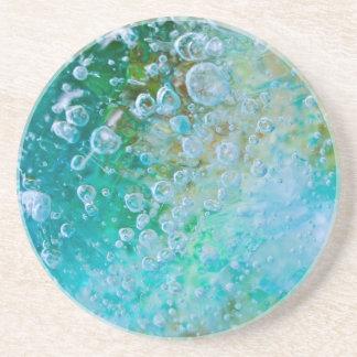 Earth Bubble Drink Coaster