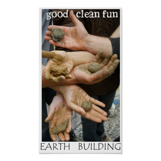 Earth Building Fun Poster