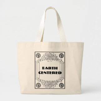 Earth Centered Large Tote Bag