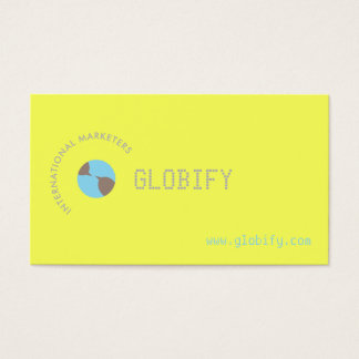Earth Chat Business Card