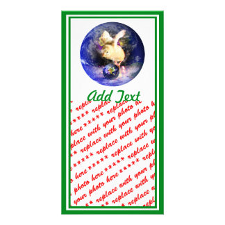 Earth Chick (w/Green Border) Picture Card