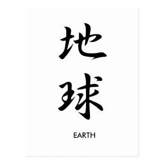Earth - Chikyuu Postcard