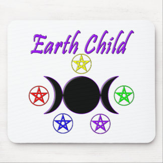 Earth Child Mouse Pad