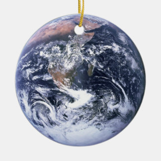 Earth Christmas Ornament