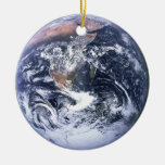 Earth Christmas Tree Ornament