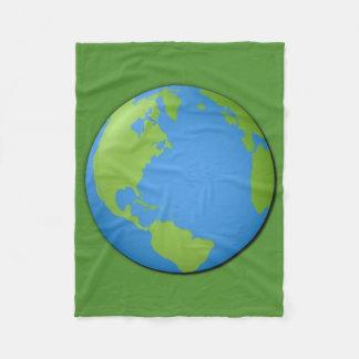 Earth Classic 3D Fleece Blanket