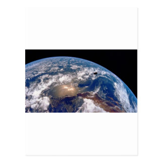 Earth closeup postcards