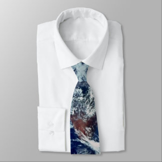 Earth Clouds Tie