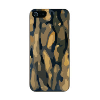 Earth Colored Camo Pattern Incipio Feather® Shine iPhone 5 Case
