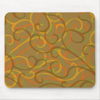 earth colors mouse mat
