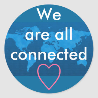Earth connection stickers