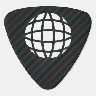 Earth Cubics Icon Guitar Pick